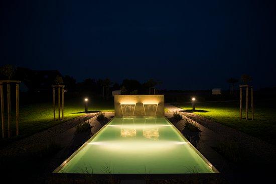 Morsum, Tyskland: Bei Nacht