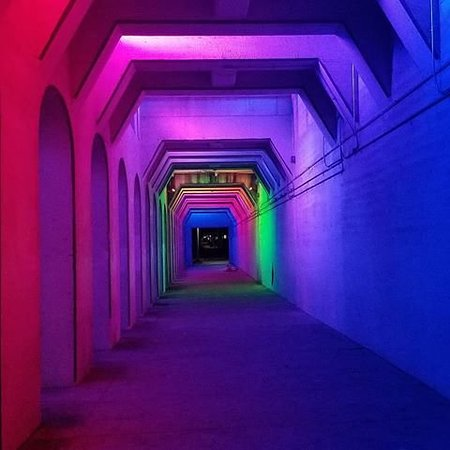 Rainbow LED Tunnel