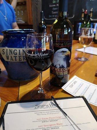 Singing Water Vineyards: The freedom wine