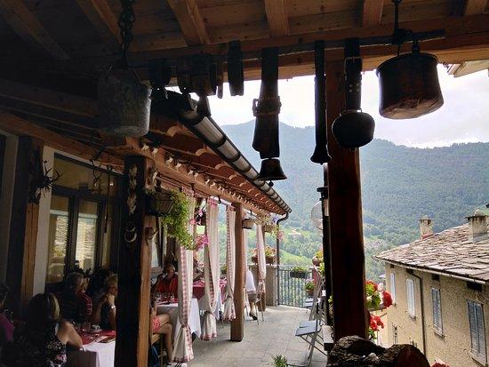 La Peppa Premana: il terrazzo