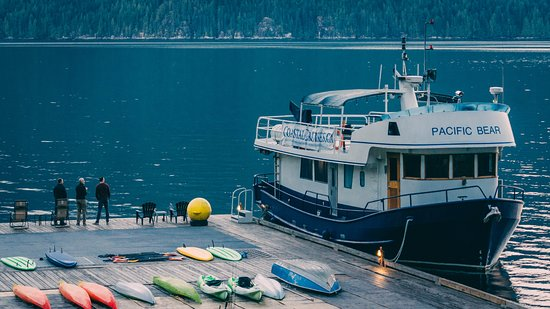 Desolation Sound, แคนาดา: The Pacific Bear at Homfray Lodge