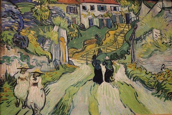 Saint Louis Art Museum Stairway At Auvers 1890 Vincent Van Gogh