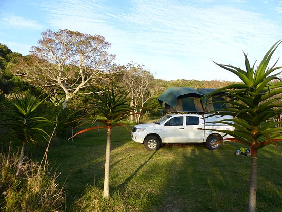 Chintsa, Sydafrika: The camping area is primo