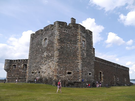 South Tower and Spur at Blackness Castle