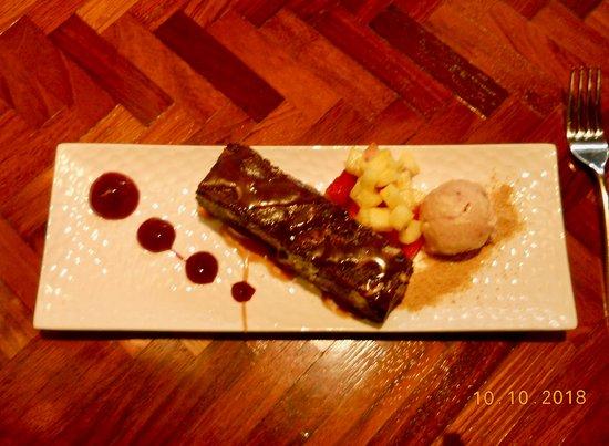 The Black Trumpet: Delicious Black Chocolate Brownie
