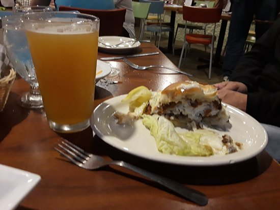 Conesus, NY: Fish Sandwich and a Beer.