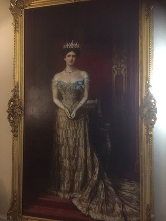 Kedleston, UK: An important lady