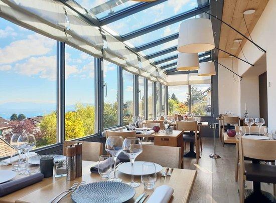 Arzier, Suisse : Restaurant