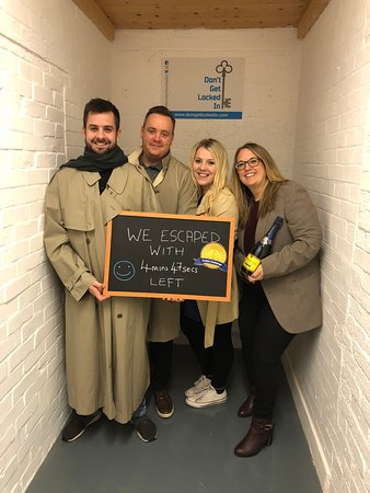 Don't Get Locked In:  Impressive teamwork 'HDC'. Congratulations on escaping on the Gold level of the Kudos Challenge