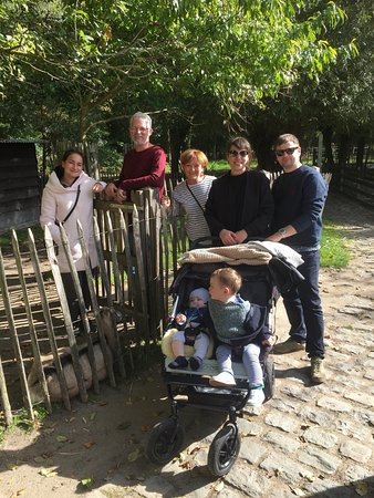 Nieuwpoort, Belgium: Day out at children's farm with family visiting from the UK