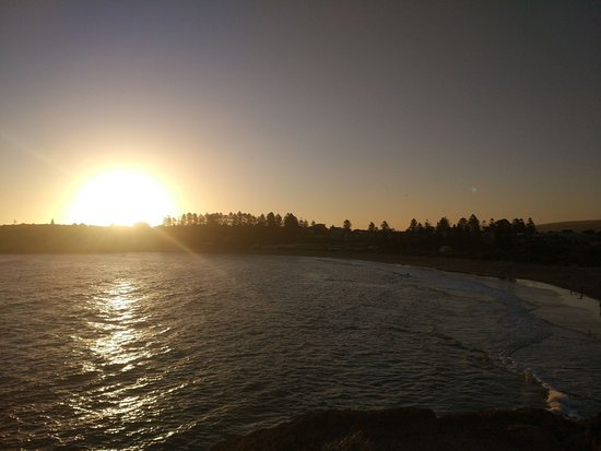 Port Elliot, Australien: sunset