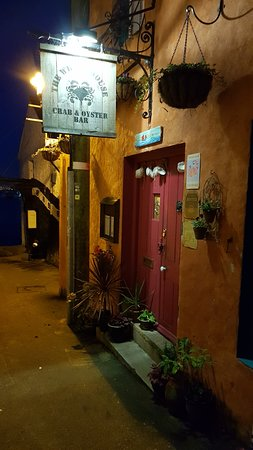 The Wheel House: Entrance down alley