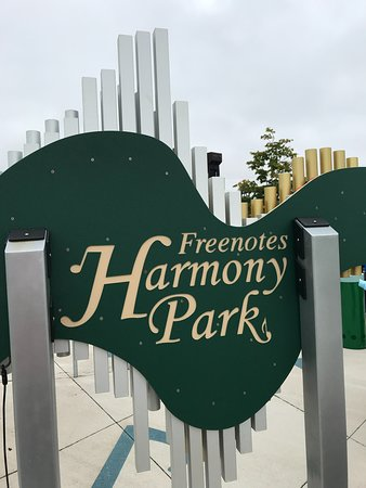 10-05-18 Harmony Park, located within Levee Park.