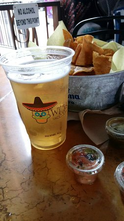 Willie S Taco Joint Ice Cold Tecate Light On Draft