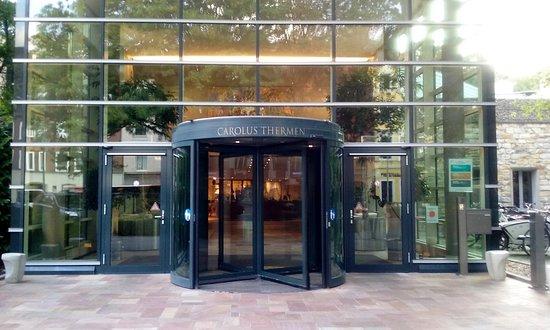 Carolus Thermen Bad Aachen: Entrance