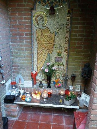 Egmond-Binnen, Pays-Bas : Kapel op de Adelbertusakker