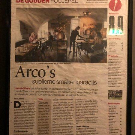 Nieuwegein, Países Bajos: Restaurant Huis de Wiers