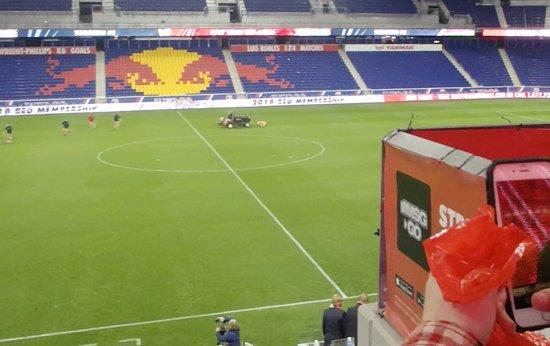 แฮร์ริสัน, นิวเจอร์ซีย์: Red Bull Arena Before Game