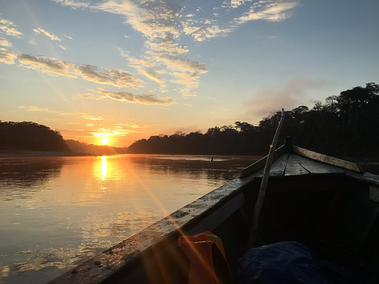 Manu National Park, Peru: sunrise of manu
