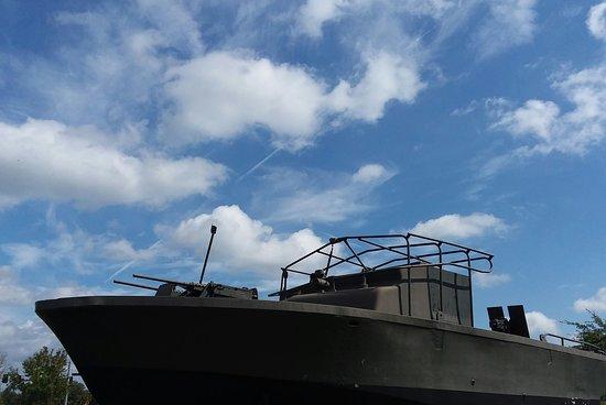 M-60 Tank: Military Police Patrol boat used in Vietnam.