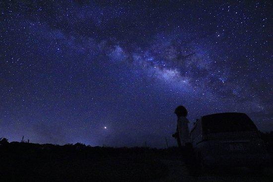 Iriomote-jima, Japonia: 天の川