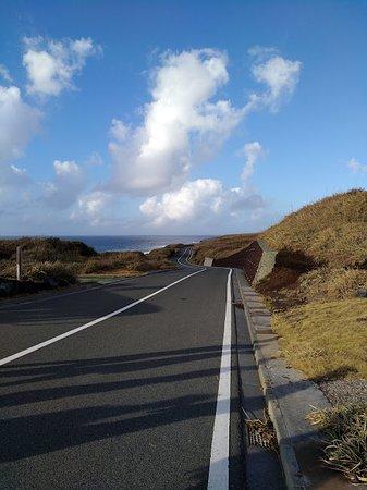Miyake-jima, Ιαπωνία: 灯台前の道路