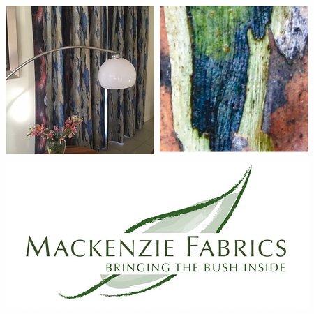 Moore, Australia: What a great display of Mackenzie Fabrics Blue Gum.