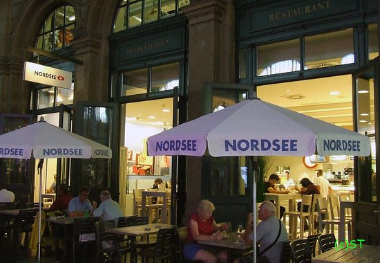 Nordsee : Outdoor seating