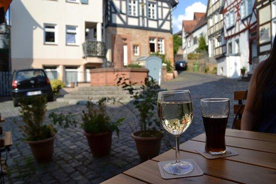 Ortenberg, Jerman: Toller Ausblick in die Altstadt und wunderbares Wetter!