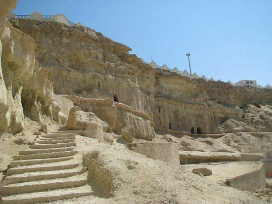 Qeshm, Iran: outside the cave