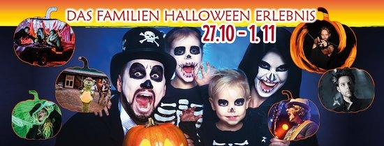 Heroldsbach, Jerman: Halloween im Erlebnispark Schloss Thurn. Vergünstigte VVK Tickets nur für kurze Zeit