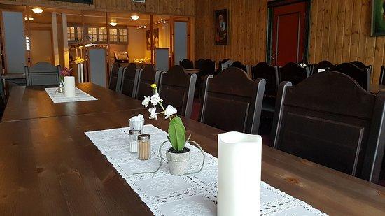 Setermoen, النرويج: Breakfast area