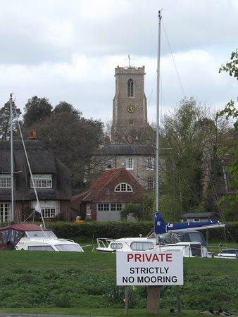 Ranworth, UK: The church