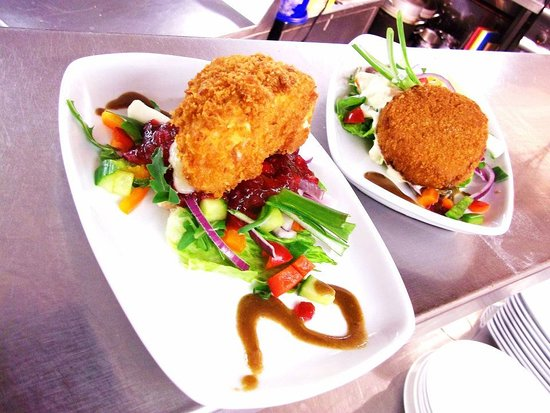 The Nelson Inn: A Special Starter of Hand Breaded Brie
