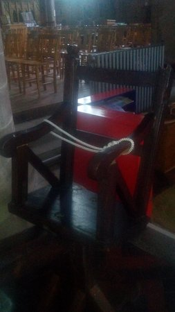 The Ducking Stool: The Chair