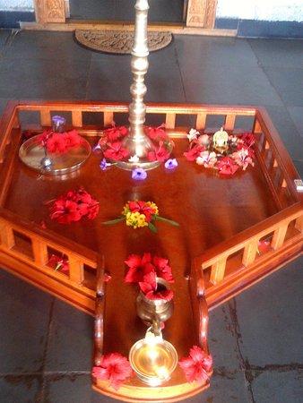 Tholpetty, Ấn Độ: Impression at the restaurant