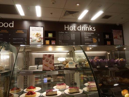Drinks Menu Picture Of Debenhams Cafe Dunfermline