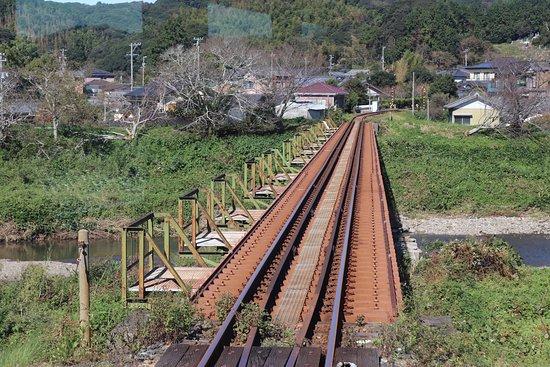 Haranoyagawa Bridge Tenryu Hamanako Tetsudo