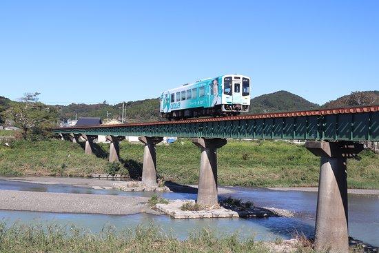 Otagawa Bridge Tenryuhamanako Tetsudo