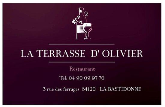 La Bastidonne, Frankreich: Suggestion du marché à partir de 14,90€ (plat et dessert)