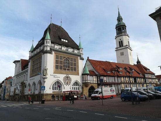 Bomann Museum: Museum building
