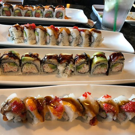 Hinata Japanese Steak House: Great sushi