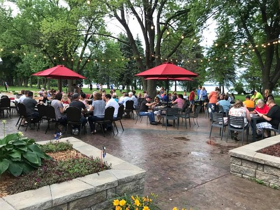 Round Lake, MN: Join us on the Cellar Patio.