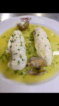 Lezama, Spanien: Un menú excelente. De auténtica calidad. Lo recomendamos.