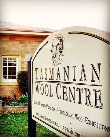 Tasmanian Wool Centre.