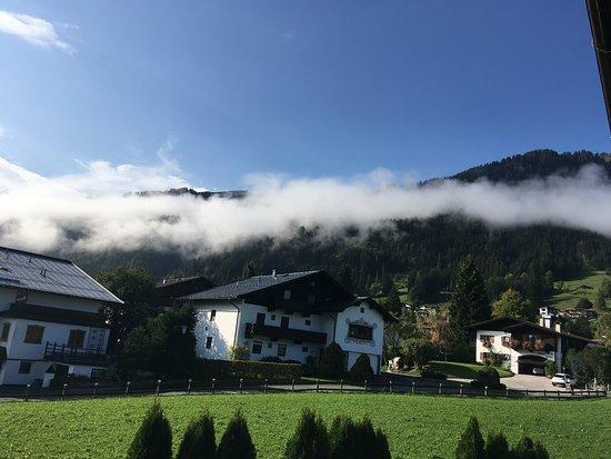 Hotel Edelweiss: Morning mist