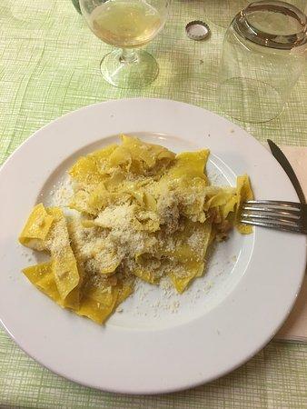 Monghidoro, Olaszország: Uno dei piatti tipici della zona