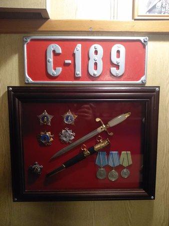 Музей подводная лодка С-189 : оформление