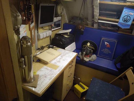 Музей подводная лодка С-189 : одна из кают