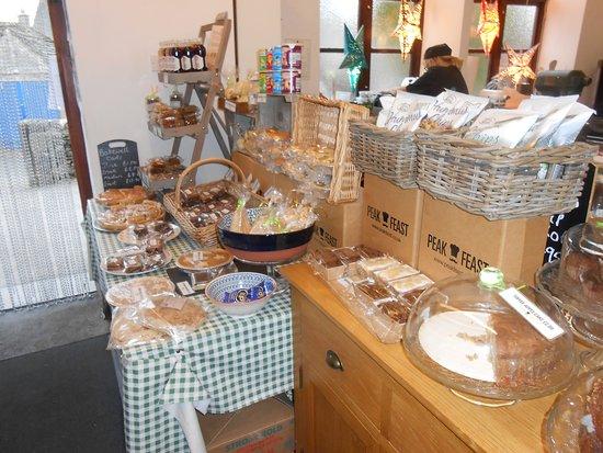 Youlgreave, UK: Display of tasty goods.